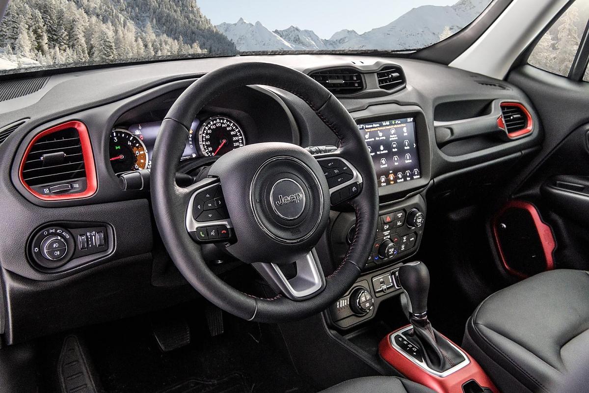 Jeep renegade kosmetischer feinschliff for Interno jeep renegade
