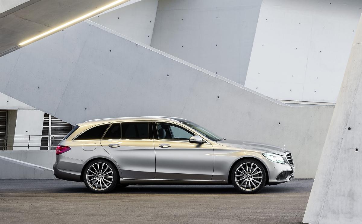Mercedes wertet C-Klasse mit Technik aus der S-Klasse auf
