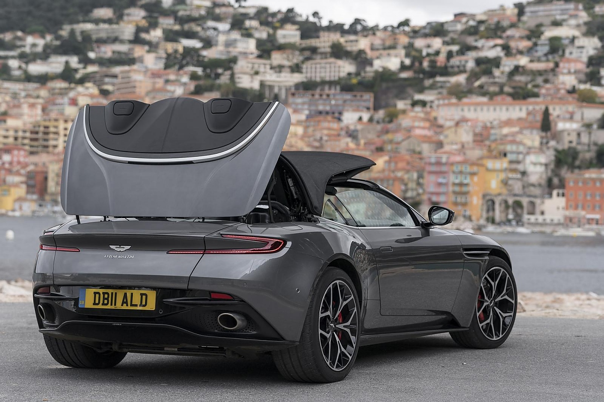 aston martin db11 volante edles powerpack. Black Bedroom Furniture Sets. Home Design Ideas
