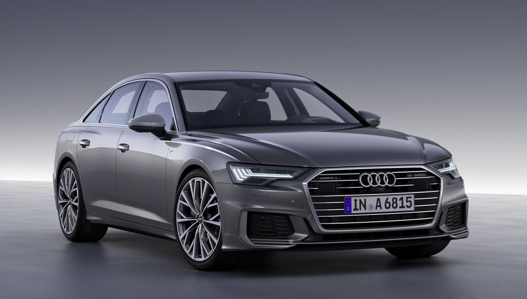 Neuer Audi A6 Aufholjagd Auf Den Klassenprimus