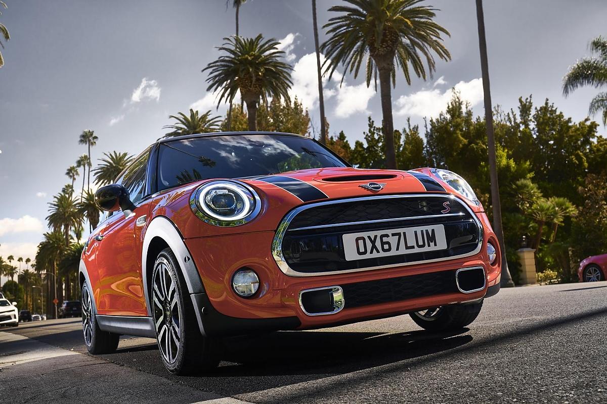 Mini Cooper: Very british