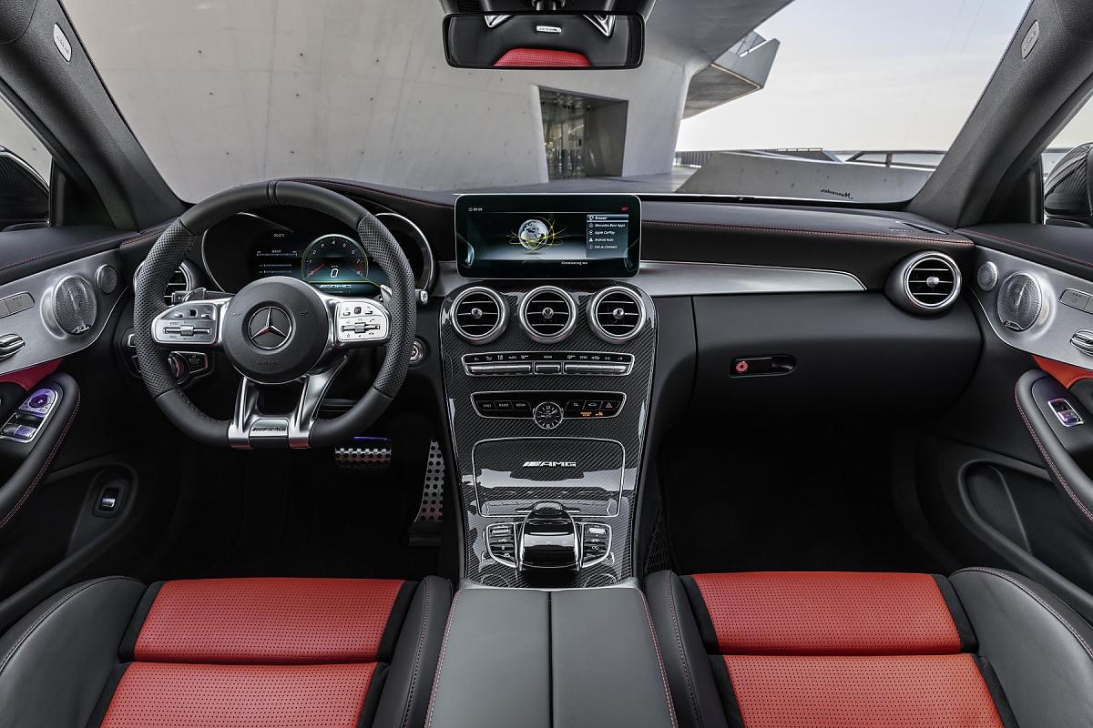 Mercedes Amg C 63 Power Quartett