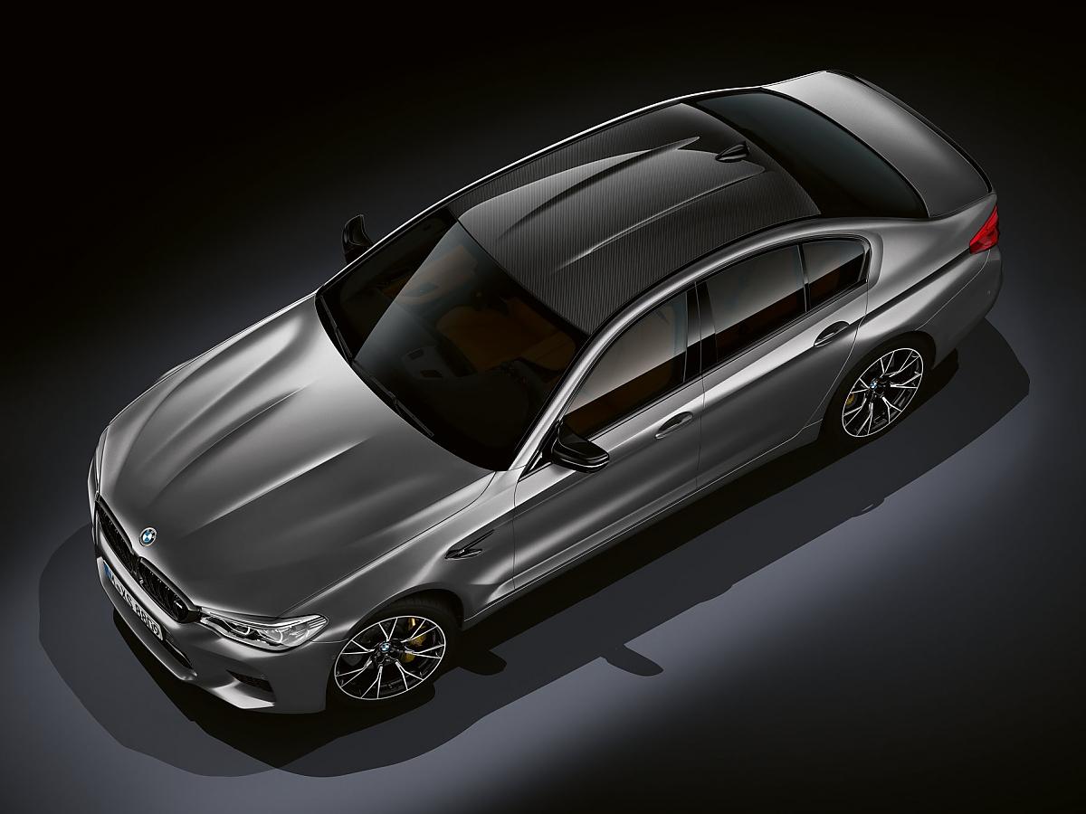 BMW M5 Competition: Tiefer, breiter, härter: BMW schärft beim M5 nach