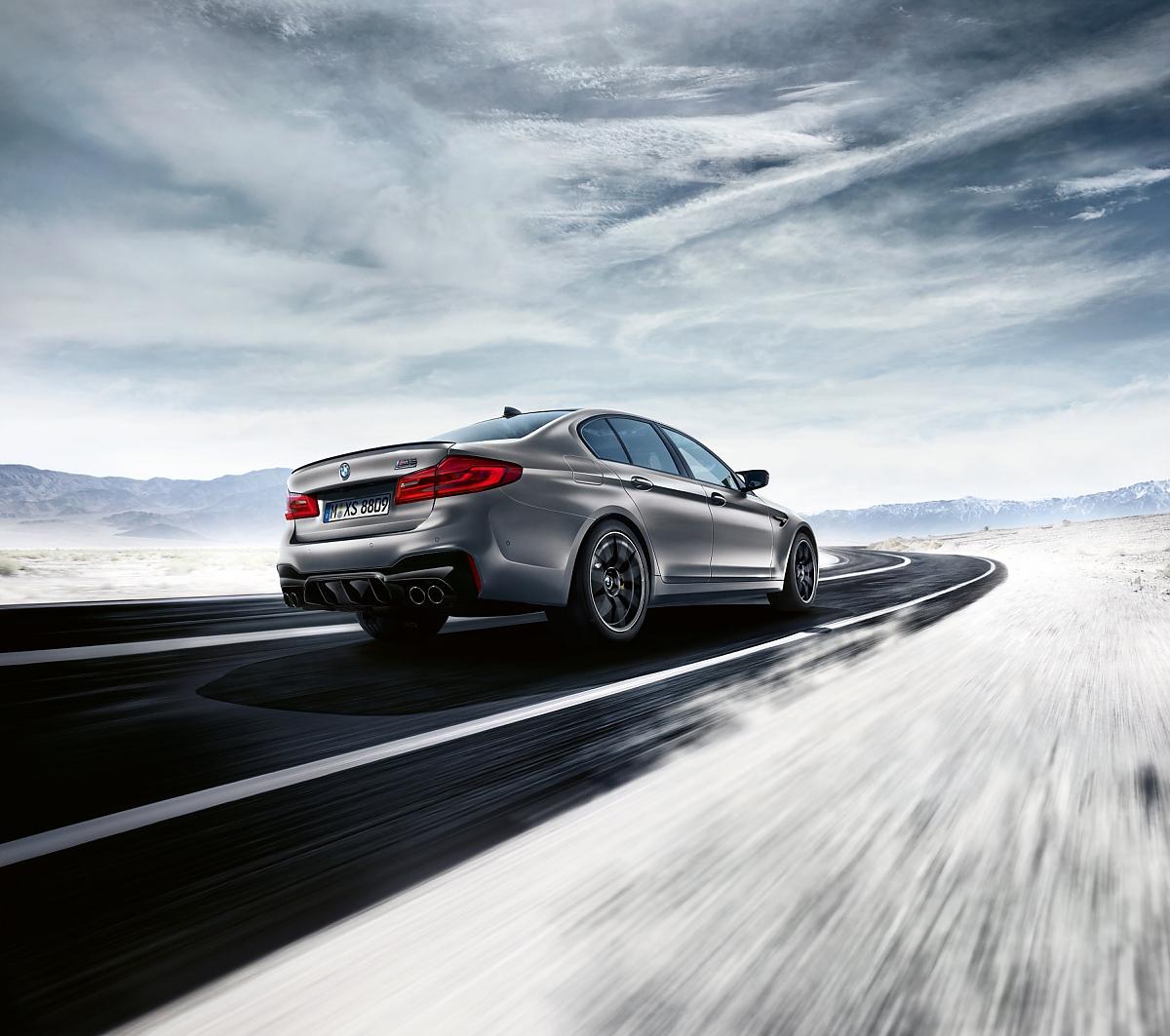 BMW M5 Competition: Der M5 wird noch schärfer