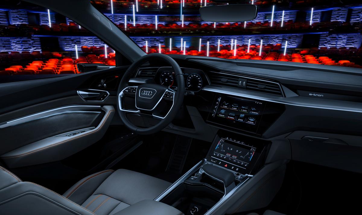 Audi zeigt Innenraum des e-tron-Prototypen