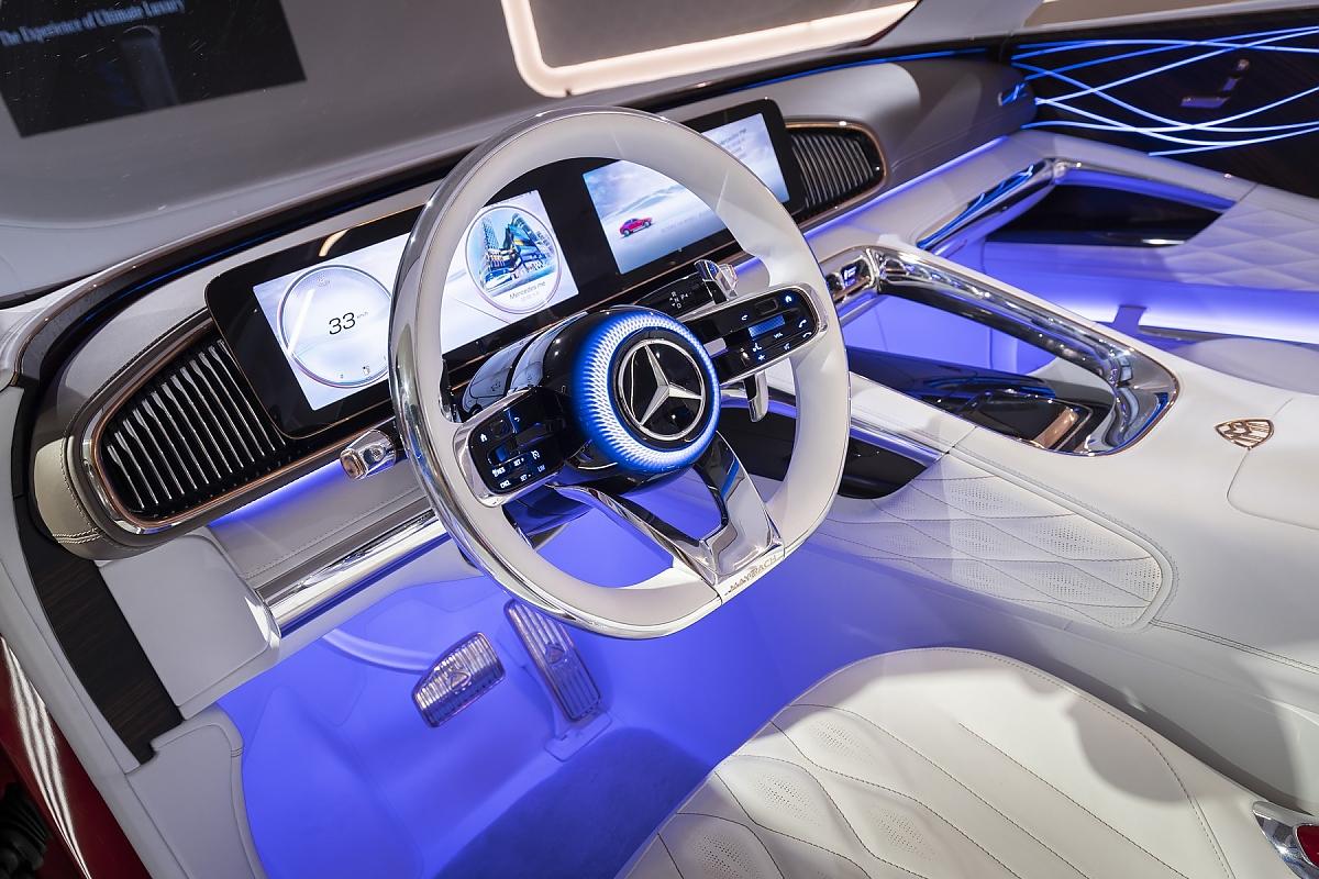Zukunft des Mercedes-Designs: Bipolare Säulen