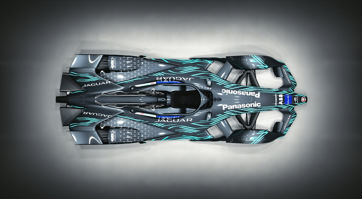 Jaguar Formel E 2019. Bild: