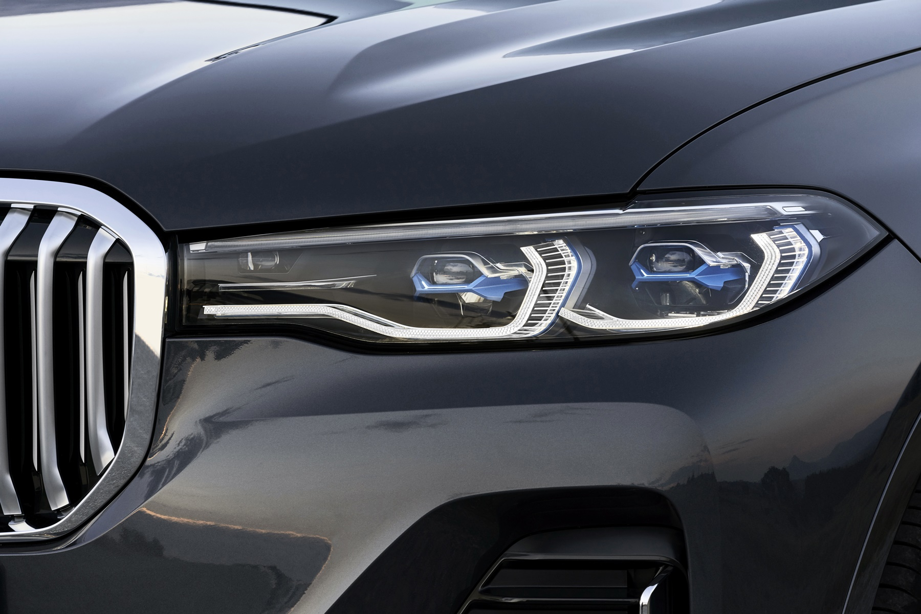 Bmw X7 Mächtige Konkurrenz Für Range Rover Und Mercedes Gls