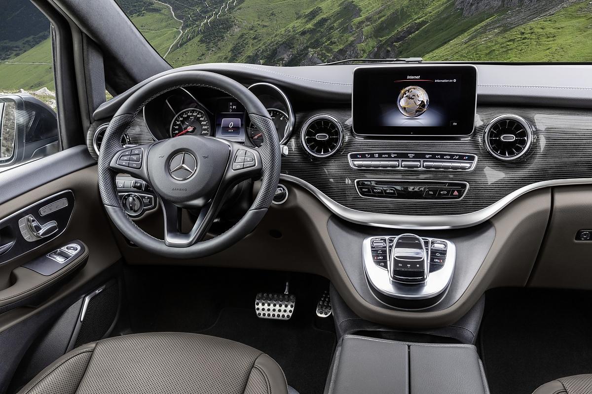 Mercedes V Klasse Mehr Assistenzsysteme Fur Das Erfolgsmodell