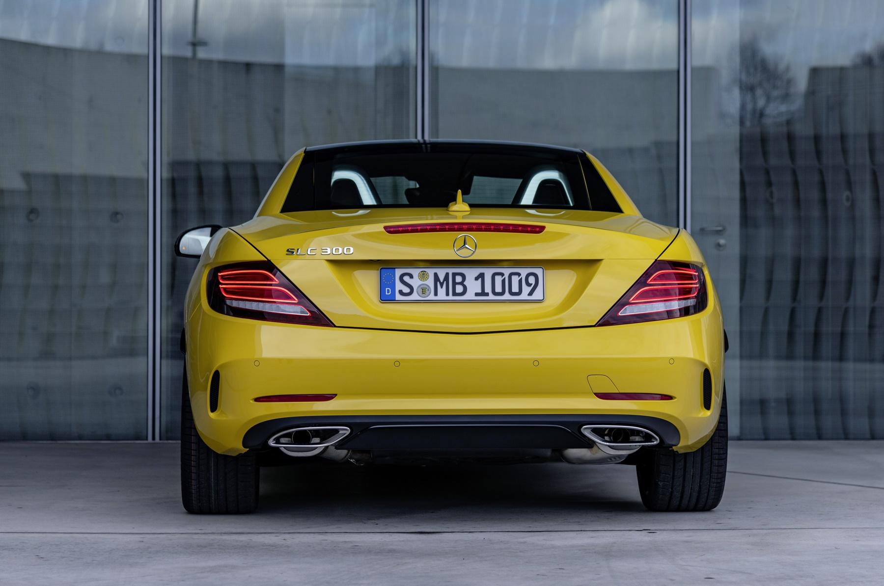 Mercedes SLC / SL: Goodbye Klappdach!