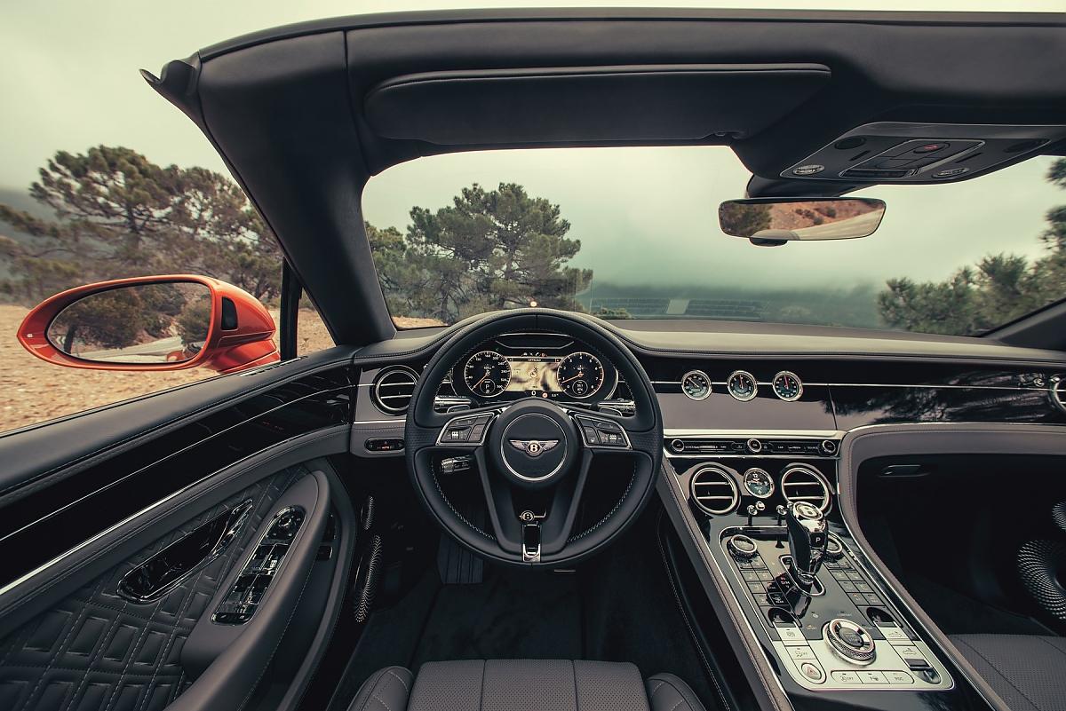 Bentley Continental Gt Cabrio Hart Am Wind