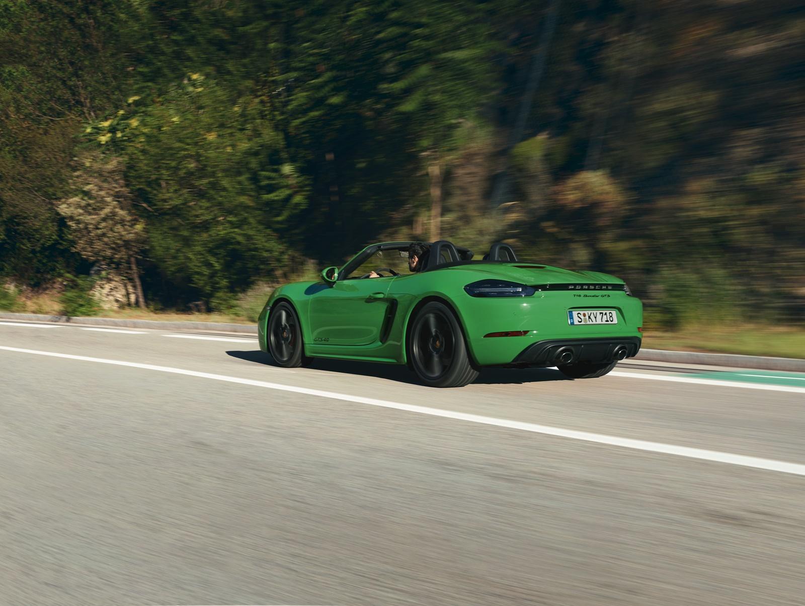 Neuvorstellung Porsche 718 Boxster/Cayman GTS: Mit sechs Zylindern gekrönt