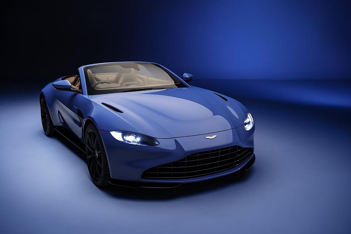 Aston Martin Vantage Roadster Schnelle Mütze