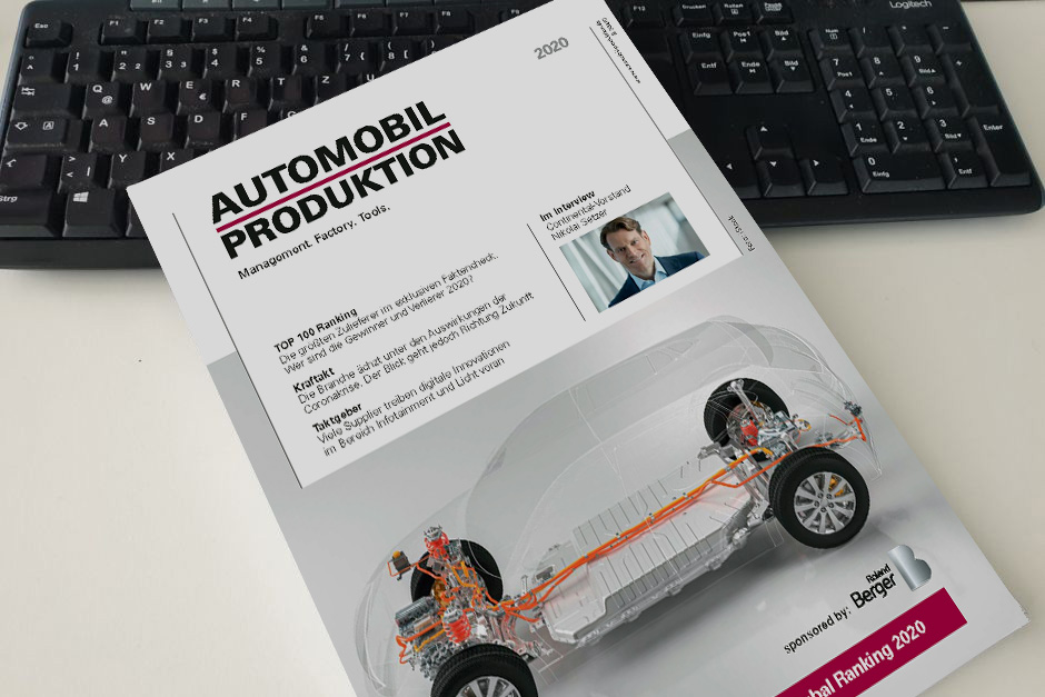 Top 100 Automotive Suppliers 2020 - Cover